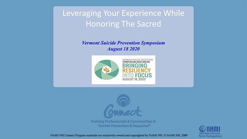 Leveraging your Experience While Honoring the Sacred