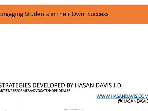 Strategies for Engaging Students in Success