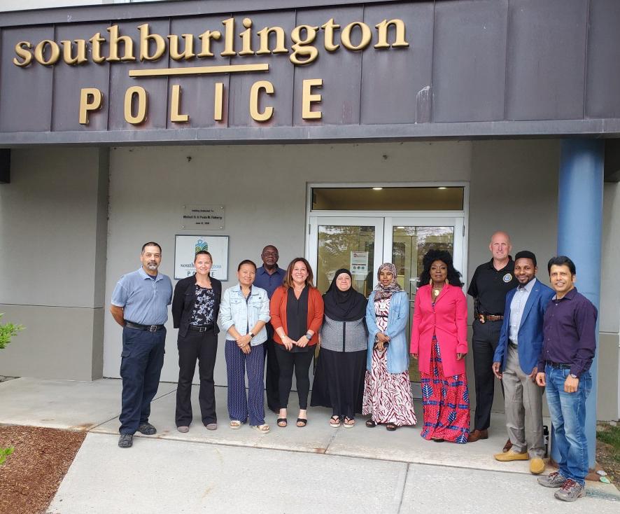 Cultural Brokers, VT Health Disparities Council Meeting with South Burlington Police Department